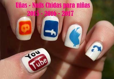 Uñas Chidas para Niñas 2015 - 2016 - 2017