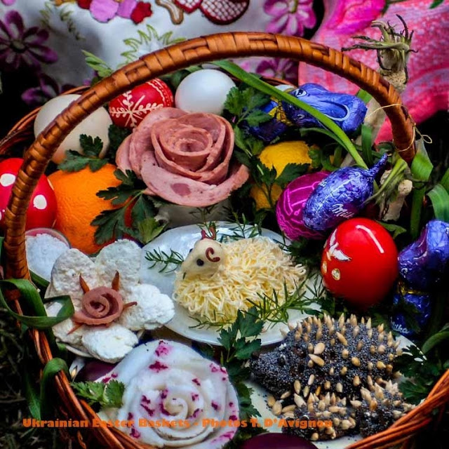 Ukrainian Eastet Basket, Photo by Tania D'Avignon
