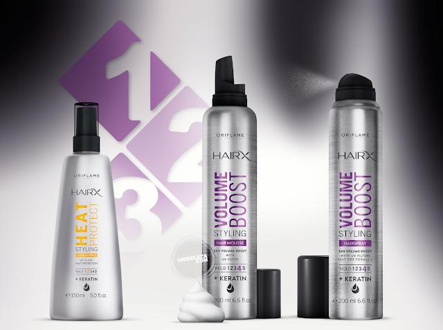 HairX Styling da Oriflame - Mais Estilo Para o Seu Cabelo