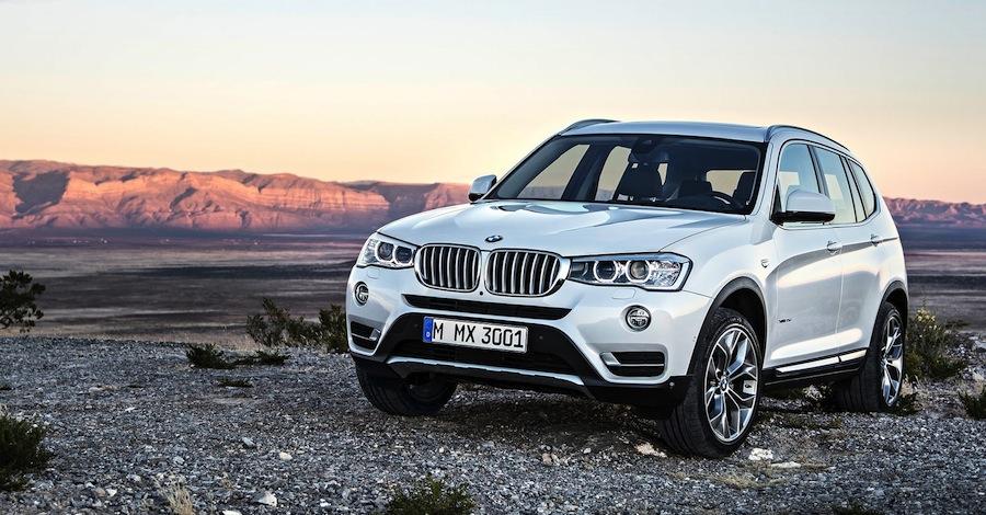 New BMW X3 マイナーチェンジした新しい「BMW X3」