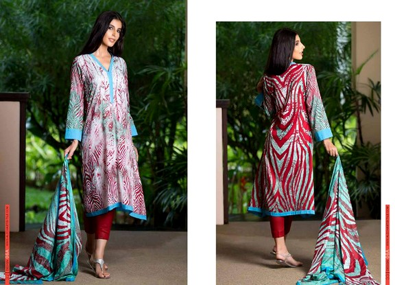 Monsoon Lawn Vol-2 Collection 2015 By Al-Zohaib Textile