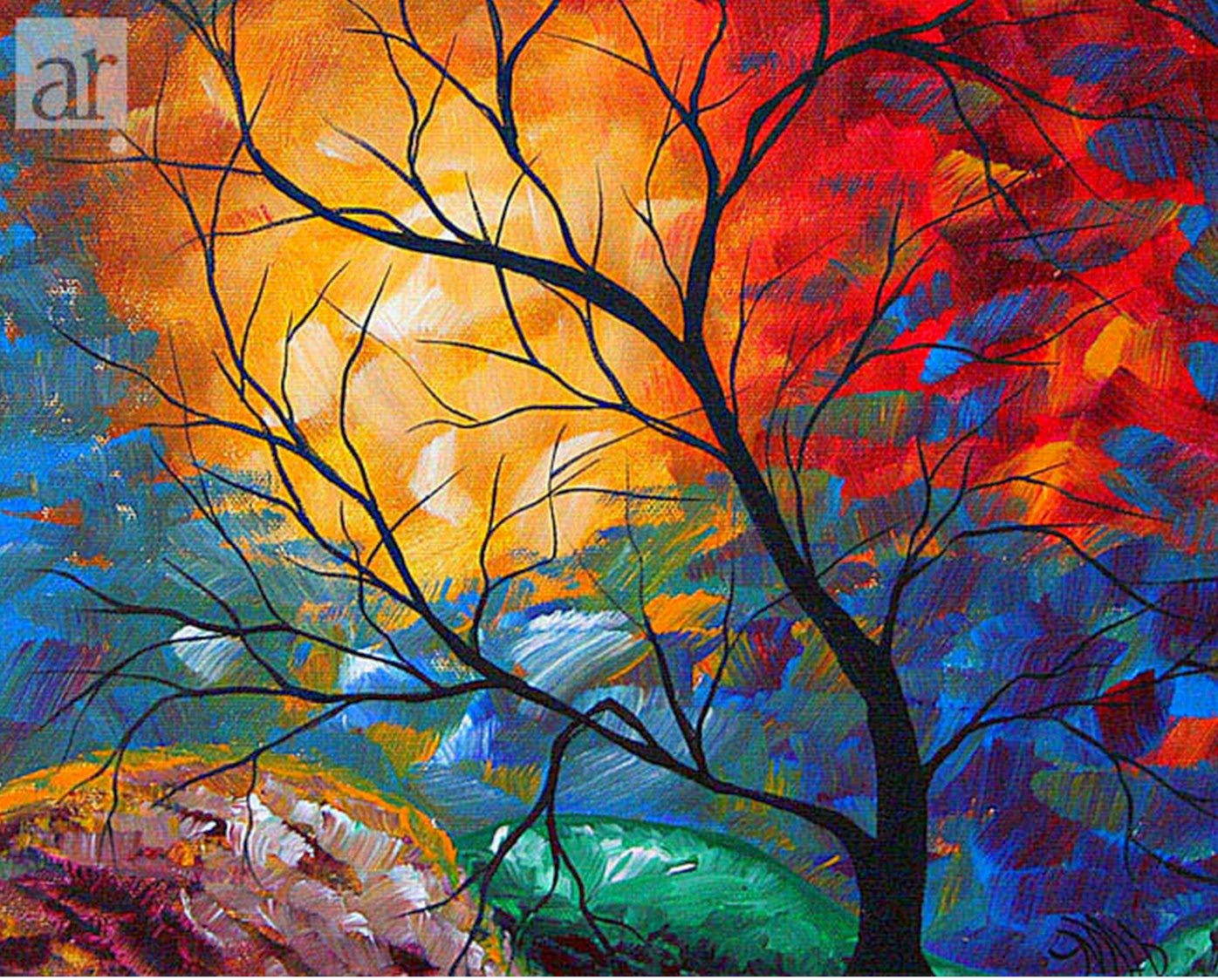pintura para pintar salas de piel: compra pintura al óleo de ... - Pintura Para Salas De Piel