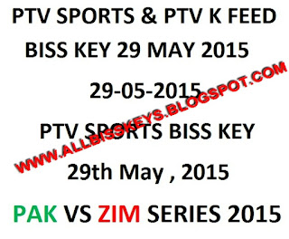 ptv sports biss key code 29th may 2015 pak vs zim 2nd odi