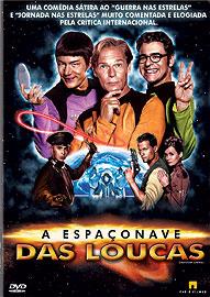 Filme Poster A Espaçonave das Loucas DVDRip XviD & RMVB Dublado