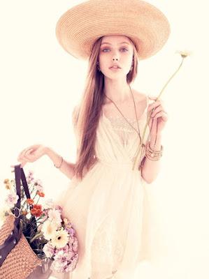 vestidos da moda romantico