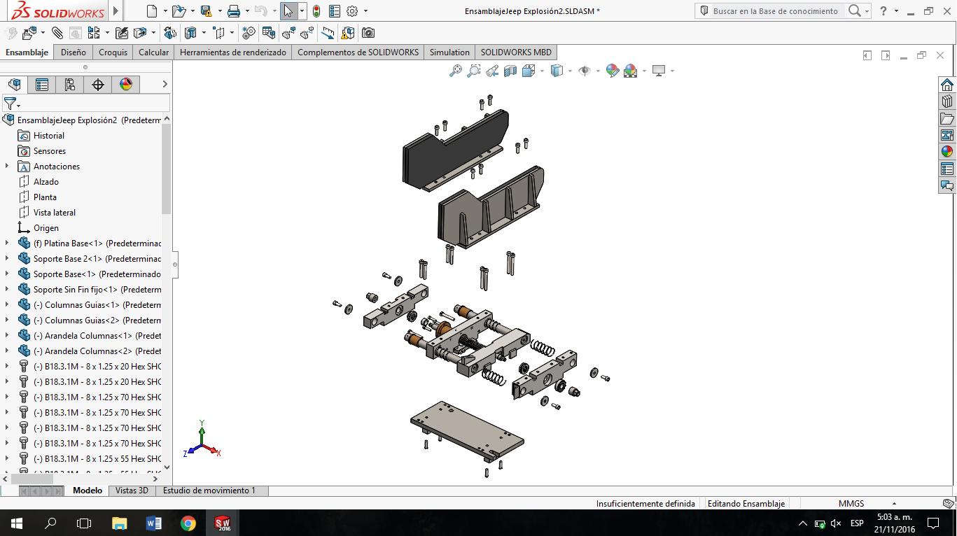 Diseño En SolidWorks