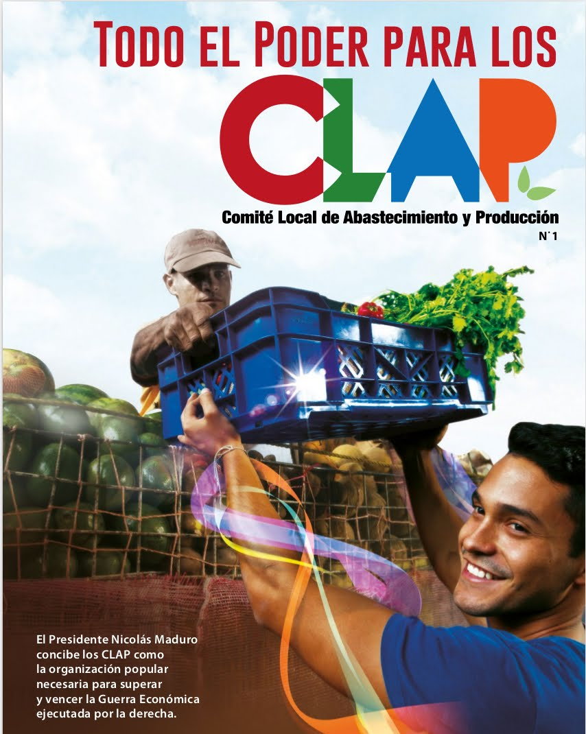 Revista Todo el poder para los CLAP N° 1