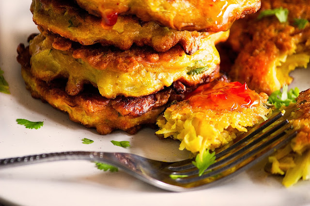 how to make cabbage fritters