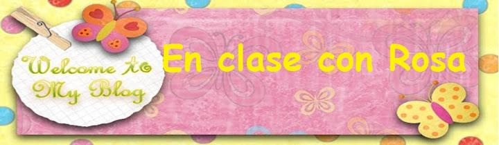 En clase con Rosa