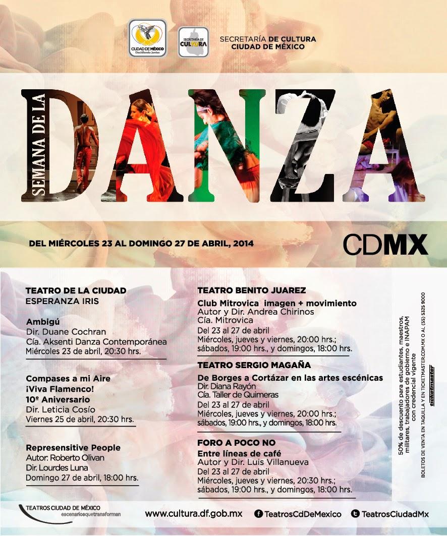 La Semana de la Danza en el Sistema de Teatros de la ciudad