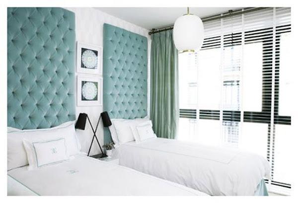 Altura cabecero decorar tu casa es - Cabeceros de cama acolchados ...