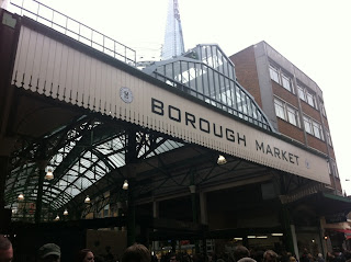 Entrance to Borough Market, London SE1