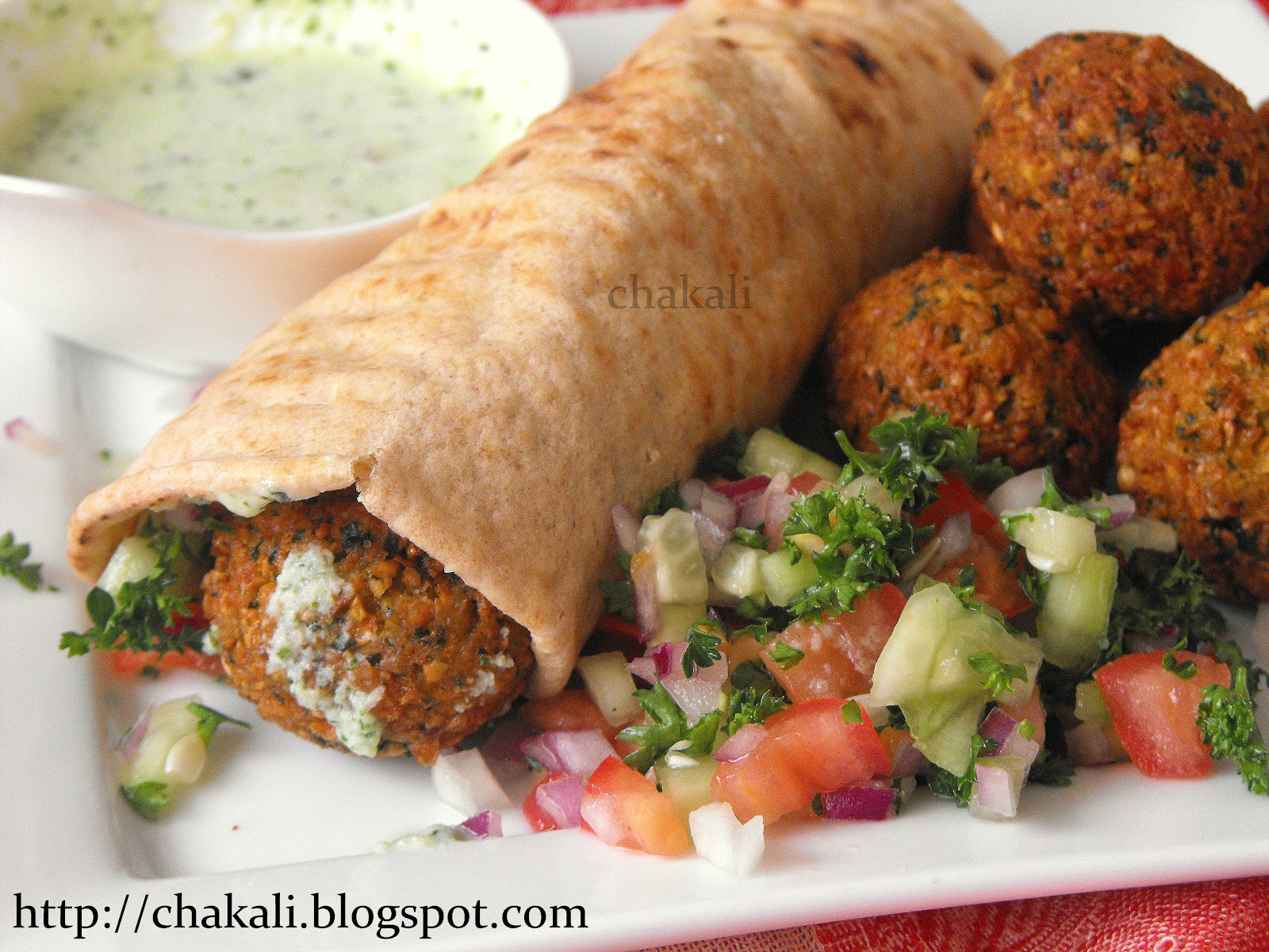 Falafel Recipe — Dishmaps