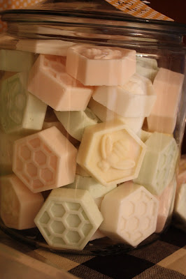 home made bee soap