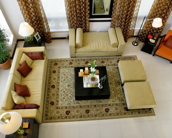 Foundation dezin decor indian royal furniture styling - Carpets for living room online india ...