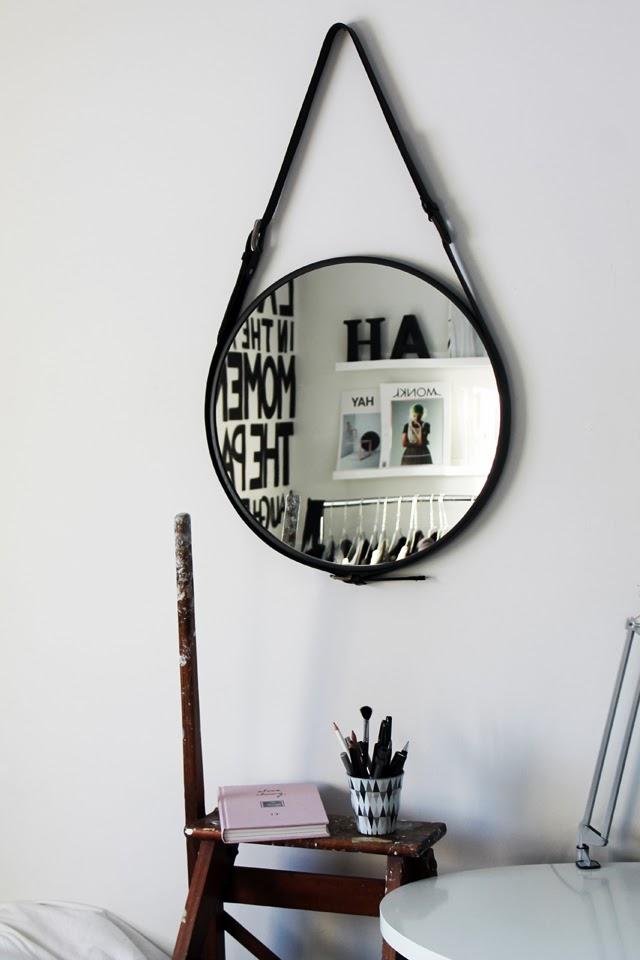 spejl ikea rundt