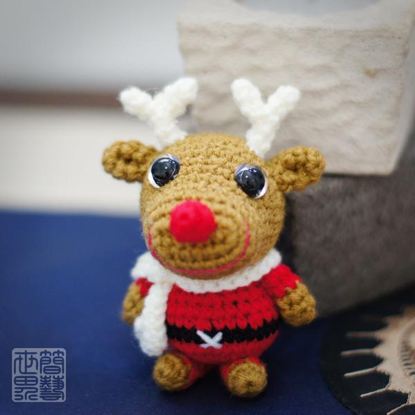 Easy Christmas Amigurumi : I love handmade dodo reindeer amigurumi pattern by