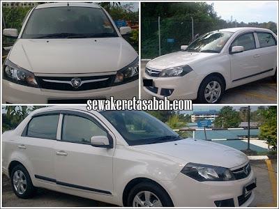Kereta Sewa Sabah Perodua FLX 1.3 Auto 2013
