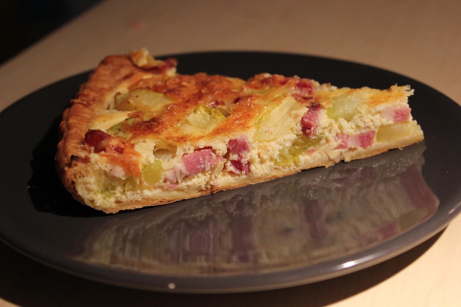 Jessy 39 s kitchen tarte courgette lardons - Cuisiner courgettes poele ...
