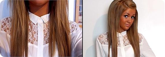 dunkle haare blondieren
