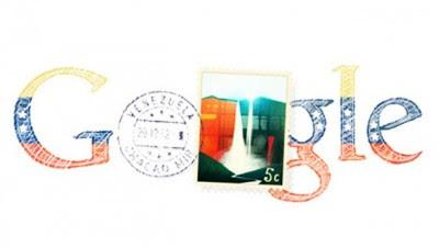 """Google, el conocido buscador de Internet, dedica este jueves su """"doodle"""" a los 201 años de la independencia de Venezuela con una composición gráfica en la que figuran los colores patrios y una estampilla con la imagen del Churún Merú, salto de agua más alto del mundo ubicado en el parque nacional Canaima, estado Bolívar. El 5 de julio de 1811, los representantes de siete provincias de la Capitanía General de Venezuela declararon su independencia de la corona de España y firmaron el acta original del primer Congreso de Venezuela que contiene la Declaración. Desde agosto de 1998, Google cambia"""