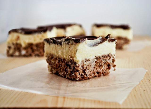 Mallow and Co: Nanaimo Bar Rice Krispy Treats