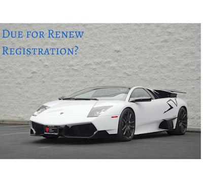 renew car registration in dubai