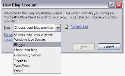 Memilih Platform blog