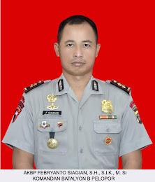 Komandan Batalyon B Pelopor