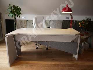 Cimstone Stone Italiana Desk