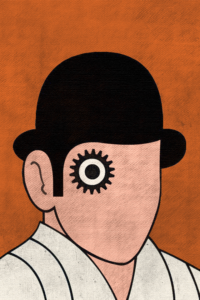 Clockwork Orange - iPhone 4 Wallpaper - Pocket Walls :: HD ... A Clockwork Orange Wallpaper 1920x1080
