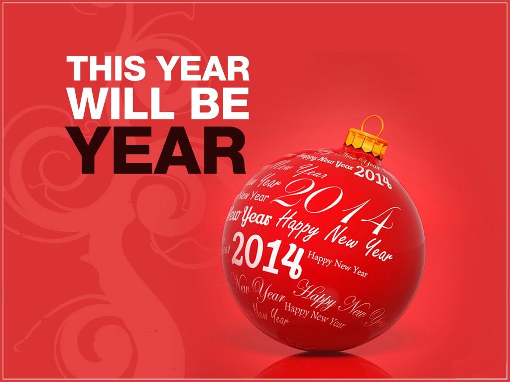 Happy new year christmas balls