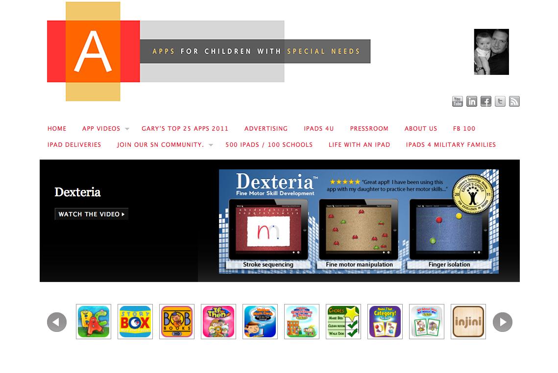 La mirada especial apps tiles para ni os con autismo for App para disenar muebles ipad