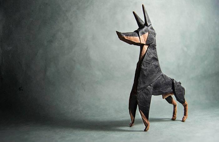 origami-anjing