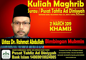 Kuliah Maghrib 21 Mac 19