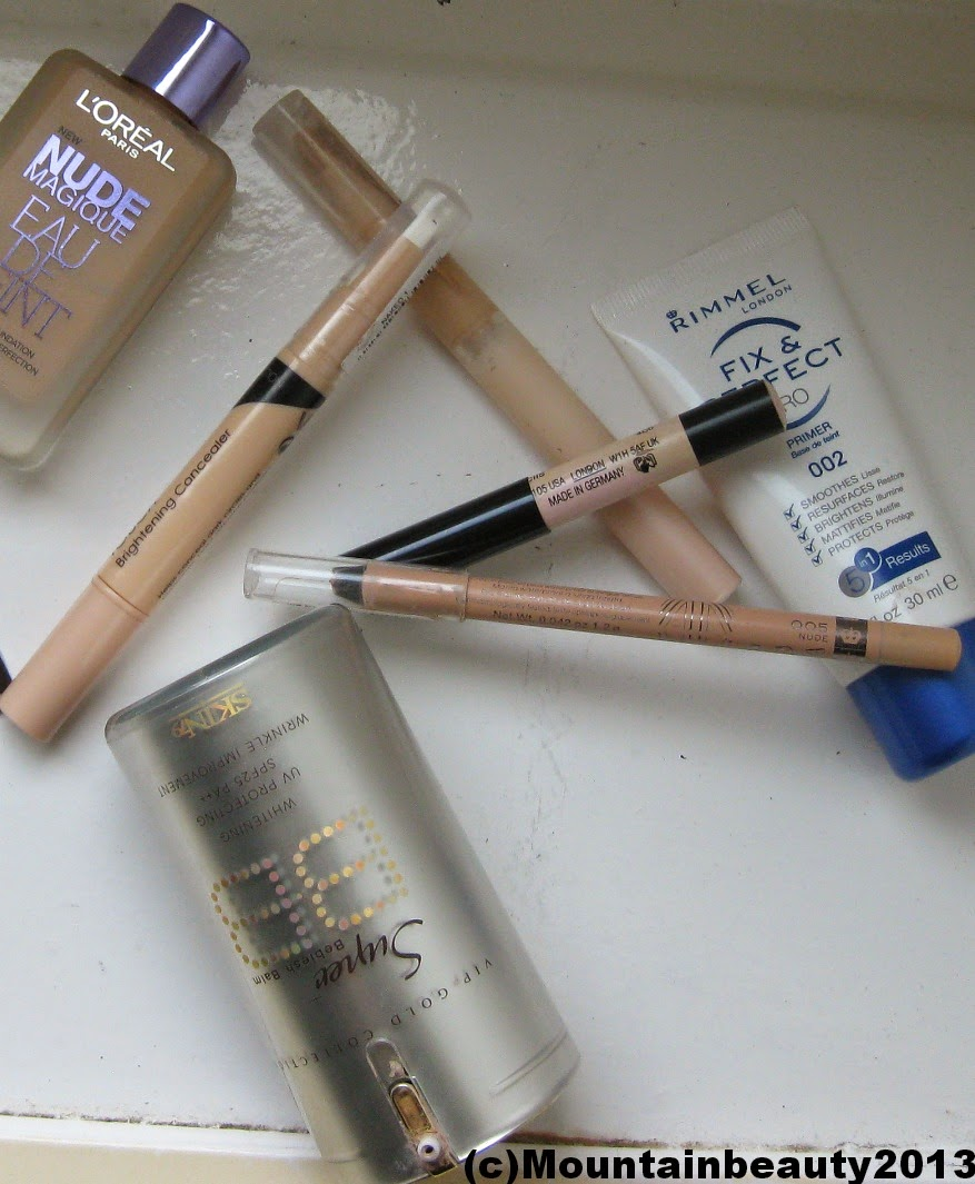 L'Oreal, Skin79, Maybelline, Rimmel, Benefit Cosmetics, Urban Decay, Sally Girl, Babylips, BB Cream, Too Faced, Catrice