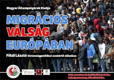 migráció, Földi László, biztonságpolitika, illegális bevándorlás, EMNT, Civil Kurázsi Egyesület, sajtó,