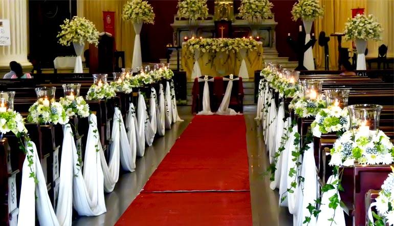 MuyAmenocom Decoracion De Iglesias Para Bodas Con Flores
