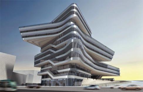 torre-espiral-zaha-hadid-barcelona-vidrio-fotovoltaico
