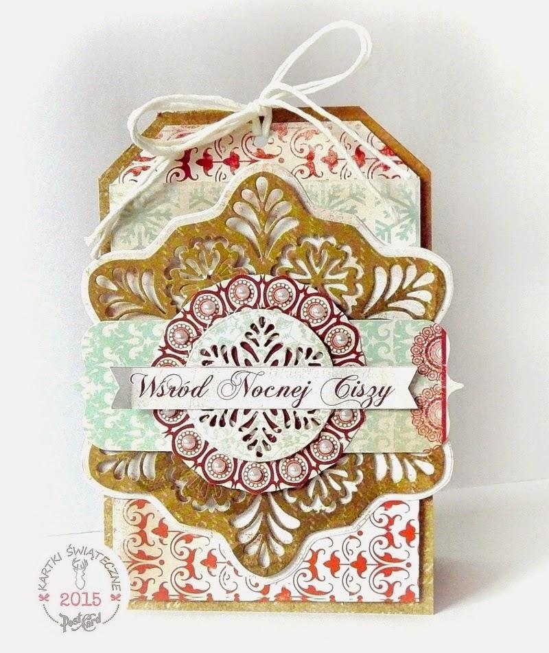kartka świąteczna tag
