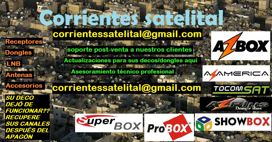 CORRIENTES SATELITAL