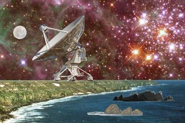 Extraterrestrial antenna
