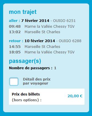 TGV low cost
