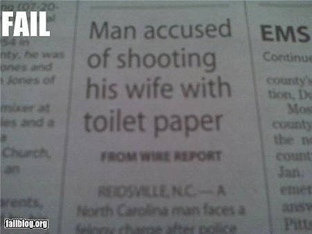 funny newspaper headlines. Funny Newspaper Headlines: Man