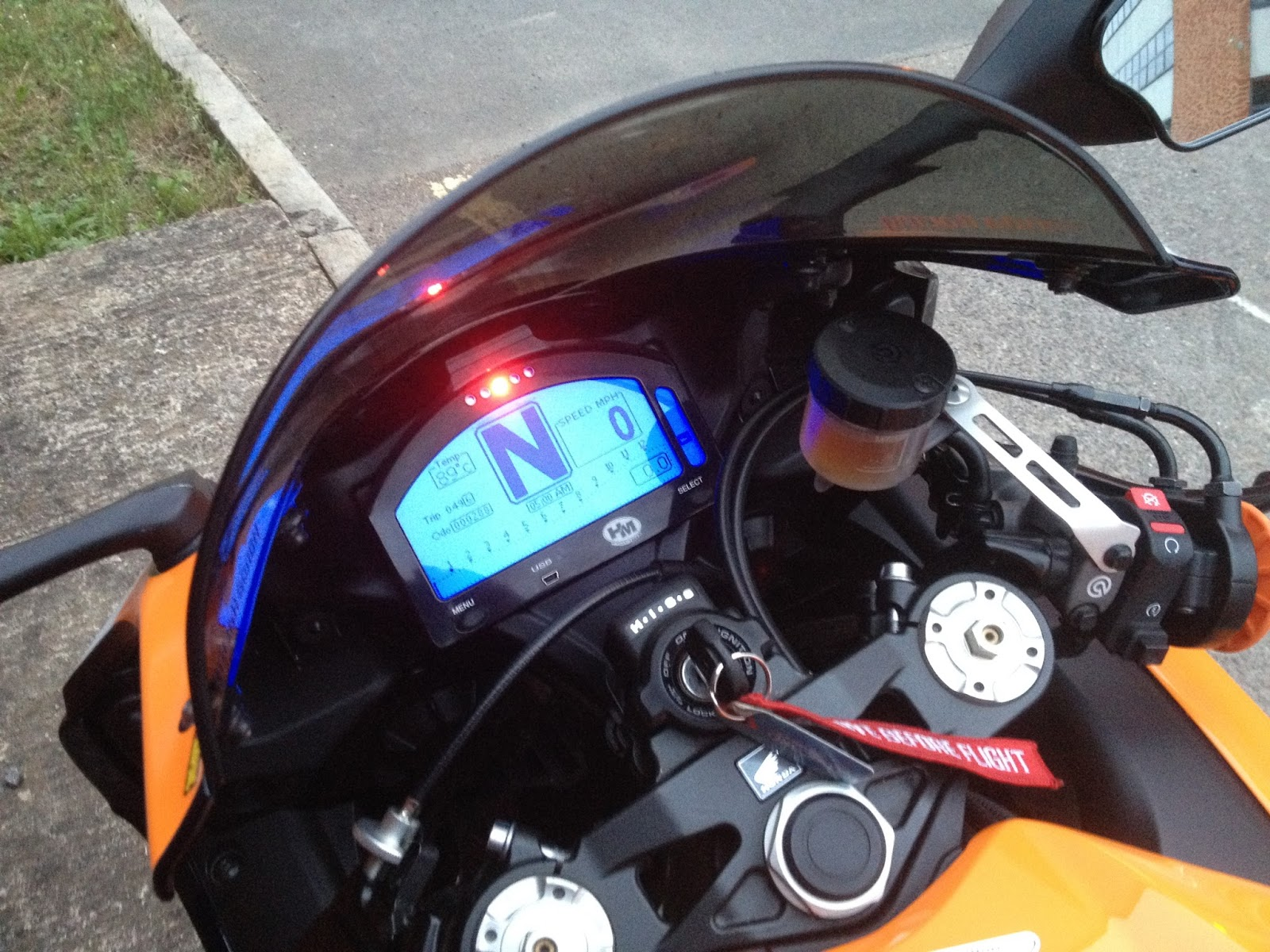 Hm Race Dash For Cbr1000rr