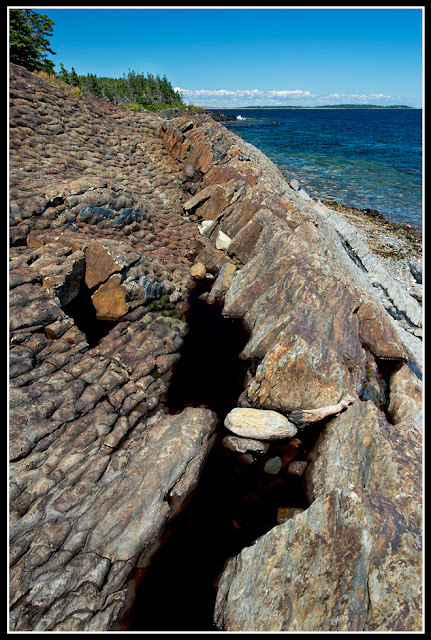 Nova Scotia, Gaff Point; Atlantic Ocean