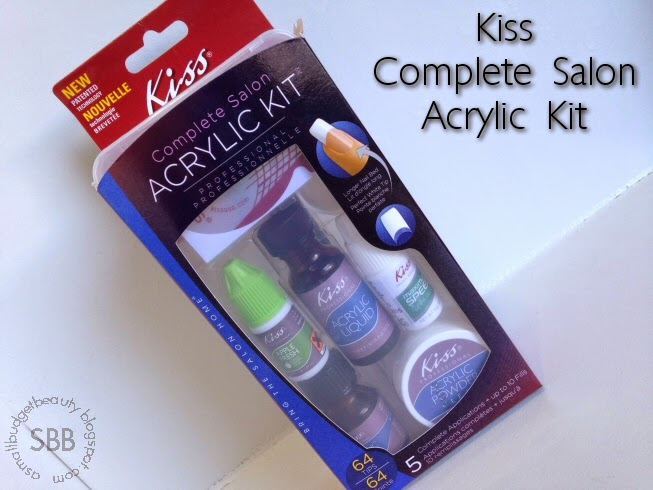 Small budget beauty review kiss complete salon acrylic kit review kiss complete salon acrylic kit solutioingenieria Gallery