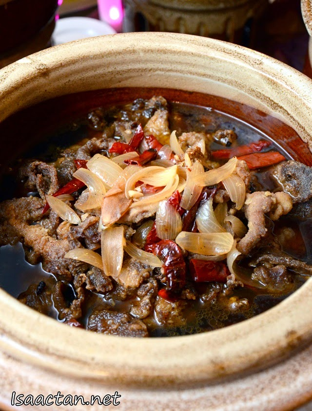 Beef Chili Ginger