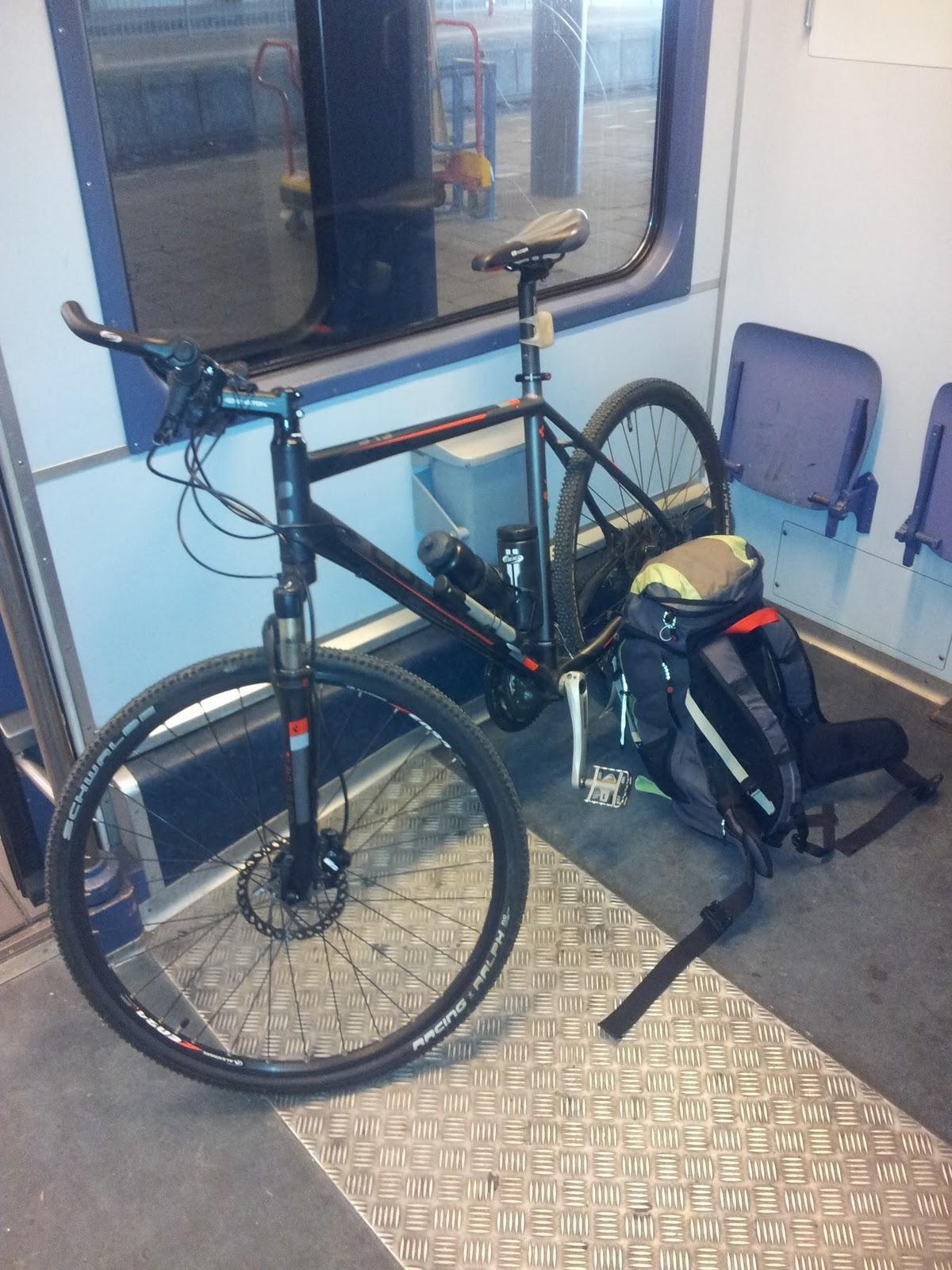 fiets en openbaar vervoer