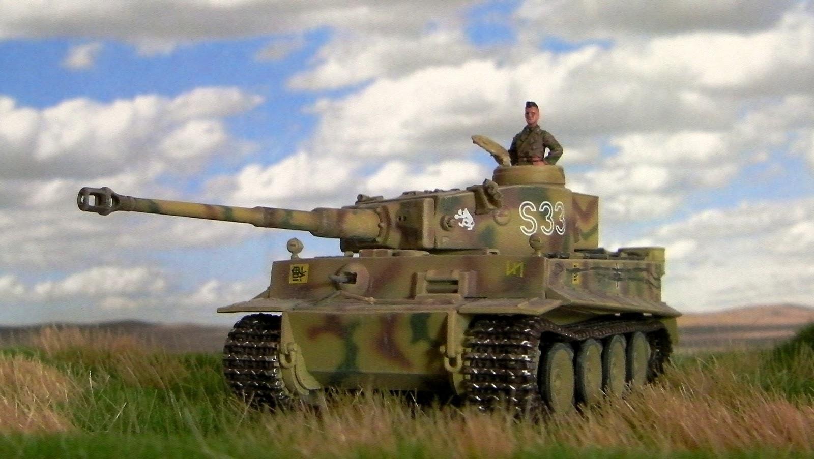 panzer sloped armor tiger i early production. Black Bedroom Furniture Sets. Home Design Ideas